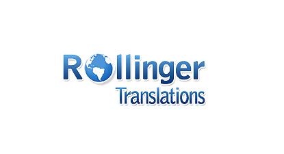 Logo design for Rollinger Translations