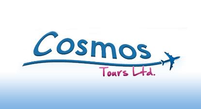 עיצוב לוגו לסוכנות נסיעות - CosmosTours