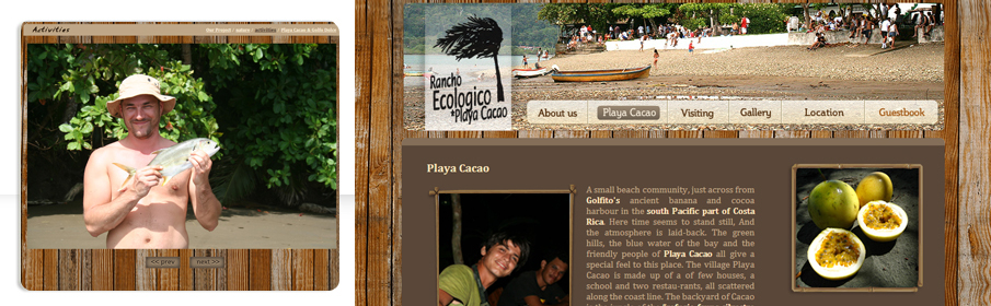 Website Design & Development for Rancho Ecologico in Costa Rica